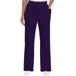Ladies' Open Bottom Pocketed Sweatpant (Purple)