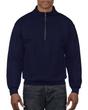 Men's 1/4 Zip Cadet Collar Sweatshirt (Navy)