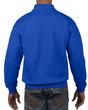 Men's 1/4 Zip Cadet Collar Sweatshirt (Royal)