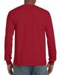 Men's Classic Long Sleeve T-Shirt (Cardinal Red)