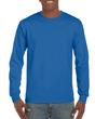 Men's Classic Long Sleeve T-Shirt (Sapphire)