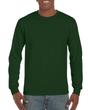 Men's Classic Long Sleeve T-Shirt (Forest Green)