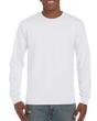 Men's Classic Long Sleeve T-Shirt (White)