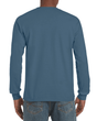 Men's Classic Long Sleeve T-Shirt (Indigo Blue)