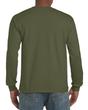 Men's Classic Long Sleeve T-Shirt (Military Green)