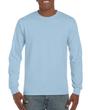 Men's Classic Long Sleeve T-Shirt (Light Blue)