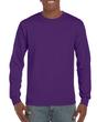 Men's Classic Long Sleeve T-Shirt (Purple)