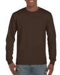 Men's Classic Long Sleeve T-Shirt (Dark Chocolate)