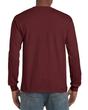 Men's Classic Long Sleeve T-Shirt (Maroon)
