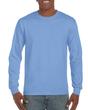Men's Classic Long Sleeve T-Shirt (Carolina Blue)