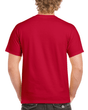 Men's Classic Short Sleeve T-Shirt (Cherry Red)