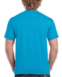 Men's Classic Short Sleeve T-Shirt (Heather Sapphire)