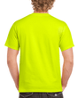 Men's Classic Short Sleeve T-Shirt (Safety Green)