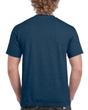 Men's Classic Short Sleeve T-Shirt (Heather Navy)