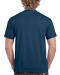 Men's Classic Short Sleeve T-Shirt (Heather Navy)