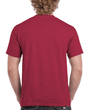 Men's Classic Short Sleeve T-Shirt (Heather Cardinal)