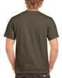Men's Classic Short Sleeve T-Shirt (Military Green)