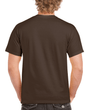 Men's Classic Short Sleeve T-Shirt (Dark Chocolate)