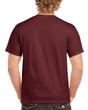 Men's Classic Short Sleeve T-Shirt (Maroon)