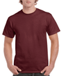 Men's Classic Short Sleeve T-Shirt (Maroon)