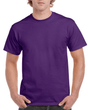 Men's Classic Short Sleeve T-Shirt (Purple)