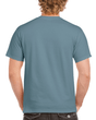 Men's Classic Short Sleeve T-Shirt (Indigo Blue)