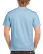 Men's Classic Short Sleeve T-Shirt (Light Blue)