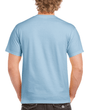 Men's Classic Short Sleeve T-Shirt (Light Blue)