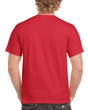 Men's Classic Short Sleeve T-Shirt (Red)