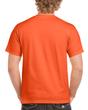 Men's Classic Short Sleeve T-Shirt (Orange)