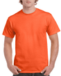 Men's Classic Short Sleeve T-Shirt (Orange)