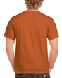 Men's Classic Short Sleeve T-Shirt (Texas Orange)