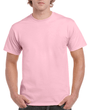 Men's Classic Short Sleeve T-Shirt (Light Pink)