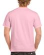 Men's Classic Short Sleeve T-Shirt (Light Pink)