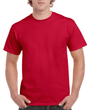 Men's Classic Short Sleeve T-Shirt (Cardinal Red)