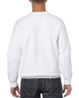 Men's Crewneck Sweatshirt (White)