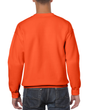 Men's Crewneck Sweatshirt (Orange)