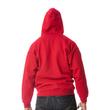 Men's Full Zip Hooded Sweatshirt (Red)