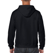 Men's Full Zip Hooded Sweatshirt (Black)
