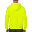 Men's Full Zip Hooded Sweatshirt (Safety Green)