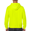 Men's Full Zip Hooded Sweatshirt (Safety Green)