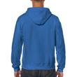 Men's Full Zip Hooded Sweatshirt (Royal)
