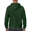 Men's Full Zip Hooded Sweatshirt (Forest Green)