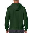 Men's Full Zip Hooded Sweatshirt (Forest Green)