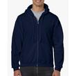 Men's Full Zip Hooded Sweatshirt (Navy)