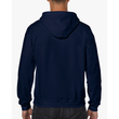 Men's Full Zip Hooded Sweatshirt (Navy)