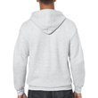 Men's Full Zip Hooded Sweatshirt (Ash Grey)