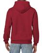 Men's Hooded Sweatshirt (Antique Cherry Red)