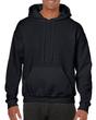 Men's Hooded Sweatshirt (Black)