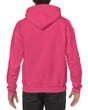 Men's Hooded Sweatshirt (Heliconia)